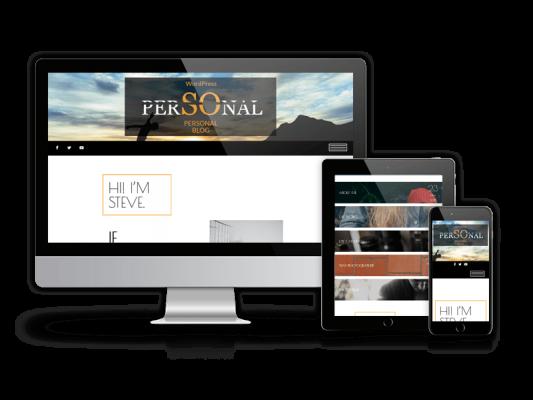 Personal - Blog WordPress Theme