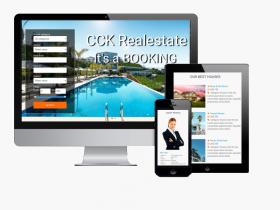 CCK REALESTATE BOOKING - IS FULL READY JOOMLA SITE