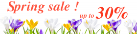 Spring sale from Ordasoft