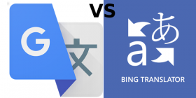 Bing Translator vs Google Translate
