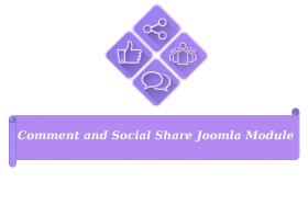 Meet New version of Joomla Social Comment and Sharing - Social Share Joomla Module