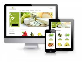OS EcoFood - Food Store Joomla Template