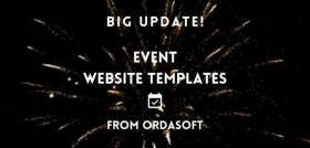 The best Event Website Templates