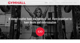 GymHall - Joomla Sport Template
