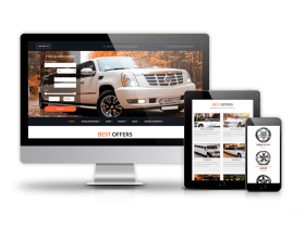 Luxury Car Rental - Limo Joomla Template