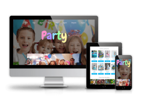 Party - Joomla Kids template