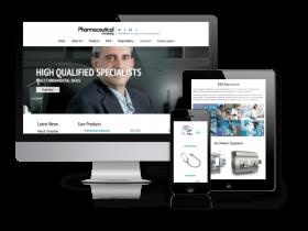 Pharmaceutical Company - Joomla Corporate template