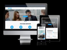 Rapture - Joomla Business Template