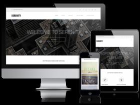 Serenity - Modern Website Template