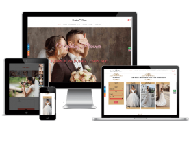 Wedding Planner - Wedding website template