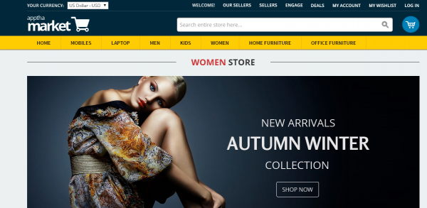 Make your own eCommerce Store with Apptha's multivendor marketplace script