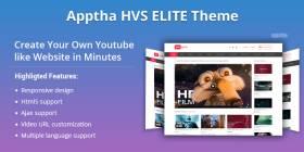 HVS Elite - A Game Changer Video Sharing Theme like Youtube