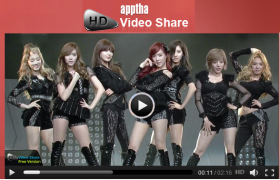 Apptha HD Video Share - Supports for JomSocial K2/HVS Komento without Cost