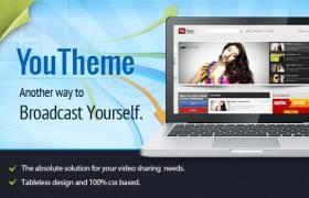 YouTheme - YouTube Like Video Theme for Joomla