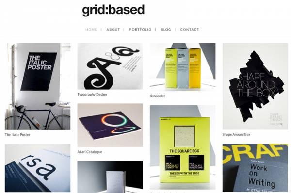 Grid Based WordPress Theme by dessign
