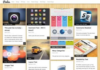 Pinbin - Free WordPress Theme by colorlib