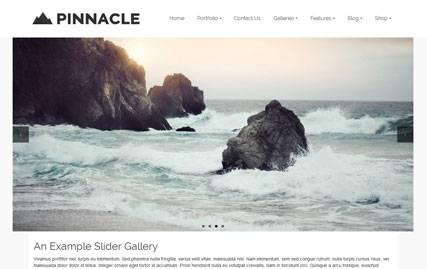 Pinnacle - Free Photography Theme for WordPress by Kadences Themes