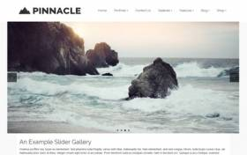 Pinnacle - Free Photography Theme for WordPress by Kadences Themes