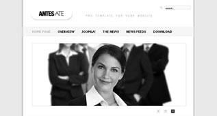 Antesate - Business and Corporate Template for Joomla 2.5 by Globbersthemes