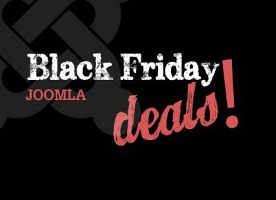 Best Joomla coupons on Black Friday 2014