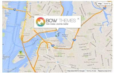 BT Google Maps Pro - Premium Google Map Component for Joomla 2.5 and 3.x