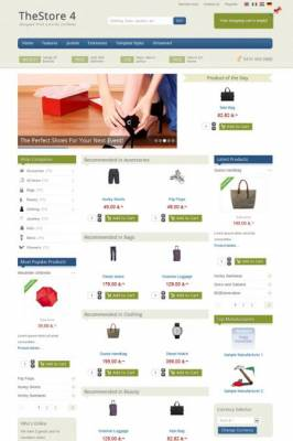 IT TheStore 4 - Premium Joomla Template With Virtuemart Component by IceTheme