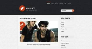 Clarente - a free Universal Template for Joomla 2.5 by Globbersthemes