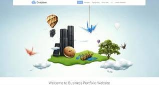 Creative - minimalist K2 and VirtueMart Template for Joomla 2.5 by GavickPro
