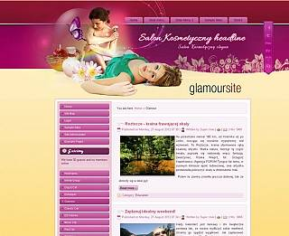 Glamour free Joomla 2.5 & 3.0 templates