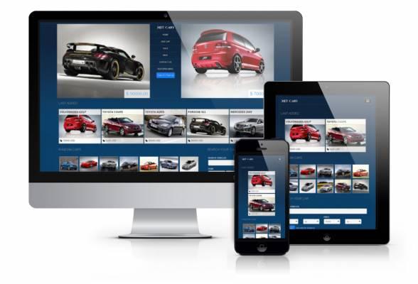 "Car Template ""Net Cars"" - Ordasoft"