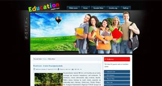 Education - free Education Template for Joomla 2.5 - Author: diablodesign