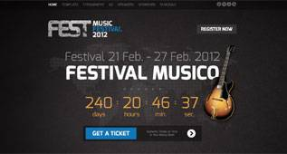 Fest - Event Template for Joomla 2.5 by GavickPro