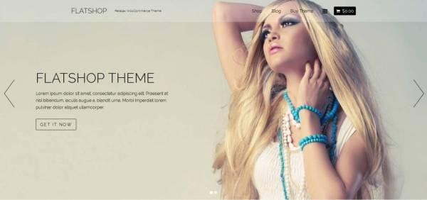 Flat Shop - WordPress Theme by Themify