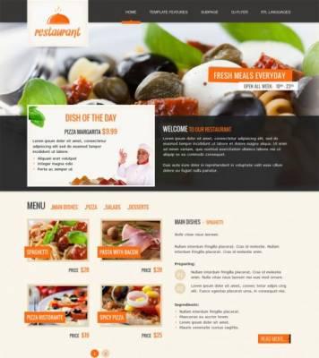 Joomla 2.5 template: JM-Italian-Restaurant
