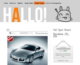 FW Hallo - free Gallery Template for Joomla 2.5 - ready for FW Gallery - Author: Fastw3b