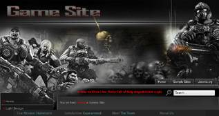 Game Site - a free Games Template for Joomla 2.5 - Author: diablodesign