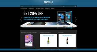 Glasslab - VirtueMart V2 Online Shop Template for Joomla 2.5 by linelab