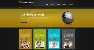 Global Solutions - ASTemplate 002037 - Free Business Template for Joomla 2.5 by ASTemplates