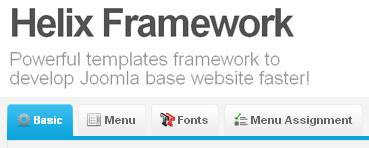 Helix Framework - build your powerful Joomla 2.5 Template - Author: JoomShaper