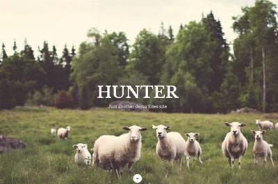 Hunter - Free WordPress Theme by FabThemes