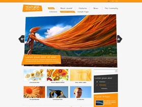 JF Texturia - free funky and wild Joomla 2.5 Template by joomfreak - native to Joomla 1.5 and 1.7