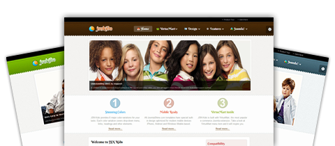 JSN Kido - Free E-commerce and online shop template for Joomla 2.5 and Joomla 3.0 by JoomlaShine