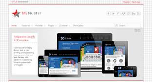 Mj Nustar - Free Business Template for Joomla 3.0 - Author: Mojoomla