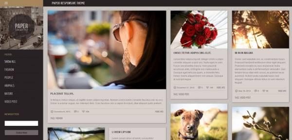 Paper - Free WordPress Theme by Templaza