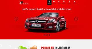 Parallax - Universal Template for Joomla 2.5 by Themexpert