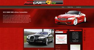 Red Car - free Car Template for Joomla 2.5 by diablodesign