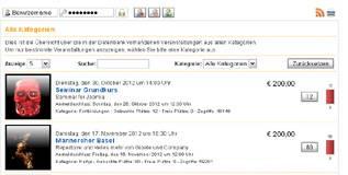 Seminar- a free Multilingual Booking Extension for Joomla - Author: Dirk Vollmar