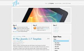Simple Light Blog - a free Blog Template for Joomla 2.5 - Author: NewJoomlaTemplates