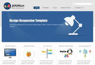 Sj Joomla 3.0 - Free Universal Template for Joomla 3.0 - Author: SmartAddons