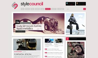 Style Council - Fashion and Magazine Template for Joomla 2.5 by JoomlaXTC